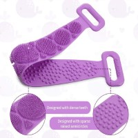 Sheling Silicone Scrubber Belt Removes Bath Towel Waterproof Easy Foot Cleaner