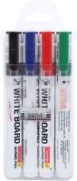 Camlin White Board Marker Pen(Set of 4, Black, Blue, Red, Green)