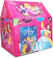 DISNEY Princess Role Play Pipe Tent House for Kids(Multicolor)