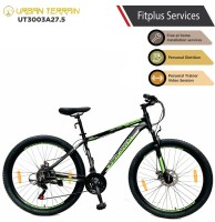 Urban Terrain UT3003A27.5 Alloy MTB with 21 Shimano Gear and Installation services 27.5 T Mountain/Hardtail Cycle(21 Gear, Black)