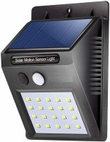 evonte LED Power PIR Motion Sensor Wall Outdoor Waterproof Energy Saving Street Yard Path Home Garden Security Lamp Solar Light Set (Wall Mounted Pack of 1) Solar Light Set(Wall Mounted Pack of 1)
