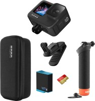 GoPro Hero 9 Black - Holiday Bundle Sports and Action Camera(Black, 20 MP)