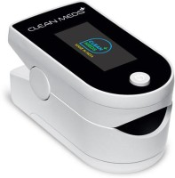 CLEAN MEDS OLED Display Spo2 Fingertip Pulse Oximeter Pulse Oximeter(White)
