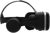IRUSU Play vr plus vr headset with headphones and in built controllers(Smart Glasses, Black)