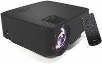 Portronics 100 lm LCD Cordless Portable Projector(Black)