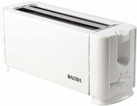 Baltra Crispy+4 Slice 1300 W Pop Up Toaster(White)