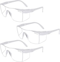 bio clear 3 wrap around Eye safety goggles full cover bio clear wrap around safety goggle for experimental research,dust protection and for virus protection Laboratory, Wood-working, Power Tool  Safety Goggle(Free-size)