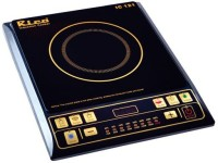 Rico IC 121 Induction Cooktop(Black, Push Button)