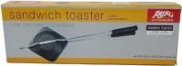 Anjali Aluminium Toaster - Large 220 Pop Up Toaster(Black, Silver)