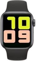 GUGGU IEK_186B_mi T500 Series 5 Smart Watch Smartwatch(Black Strap, XL)