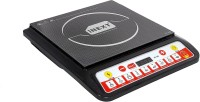 Inext IN-IC09N Smart Cook Induction Cooktop(2000W) - Black Induction Cooktop(Black, Push Button)