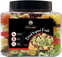 Muchmore |Premium Mix Dried Tropical Fruits|Sun Dried Fruits|Contains Strawberry/Kiwi/Mango/Pineapple/Papaya/Cran Berriers/Black Raisins|NO SUGAR ADDED| Assorted Fruit(400 g)