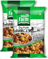 Neu.Farm Premium Dry Fruits - Mix Dry Fruits - Pack of 2 - Trail Mix (Almonds, Cashews, Pista, Raisins, Walnut)(2 x 200 g)