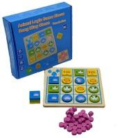 Biblubox Animal Logic Game & Brainvita(36 Pieces)