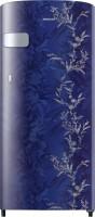 Samsung 192 L Direct Cool Single Door 2 Star (2021) Refrigerator(Mystic Overlay Blue, RR19A2Y2B6U/NL)