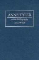 Anne Tyler(English, Hardcover, Croft Robert W.)