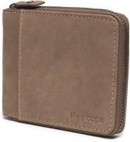 ree cope Men Casual, Casual, Trendy Brown Genuine Leather Wallet(5 Card Slots)