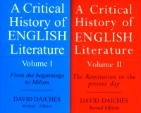 A Critical History of English Literature: Vol 1 & 2(English, Paperback, Daiches David)