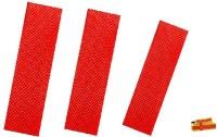 EXPSPORTS Red Cricket bat 3 toe-guard-pack-1-fevibond Cricket Guard Combo