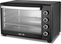 iBELL 50-Litre DLX 50-Litre 2000 Watt Oven Toaster Grill OTG with Rotisserie, Convection Fan, InnerLight Technology, 60 Minute Timer Oven Toaster Grill (OTG)(Black)