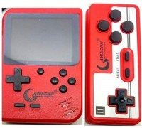 QAWACHH SUP 400 in 1 Games Retro Game Box Console Handheld, with yes(Red)