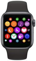 Avista T500 Bluetooth Smartwatch ECG Heart Rate Smartwatch(Black Strap, Free Size)