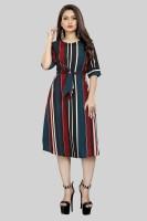 Modli 20 Fashion Women A-line Multicolor Dress