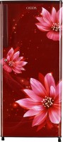 ONIDA 215 L Direct Cool Single Door 2 Star Refrigerator(FLORAL RED, RDS2152R)