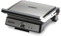 BOROSIL Present super jumbo grill 180 degree angle openable plate make up to 4 jumbo bread size sandwiches at the same time Grill(Black)