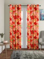 Flipkart SmartBuy 210 cm (7 ft) Polyester Door Curtain (Pack Of 2)