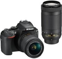 NIKON D5600 18-55 + 70-300 DUAL LENS KIT DSLR Camera DUAL LENS KIT(Black)