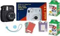 FUJIFILM Instax Mini 11 Bundle Pack (Charcoal grey) with 40 Film shot Instant Camera(Grey)