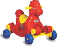 ANH Style Rocking Horse Rideons & Wagons Non Battery Operated Ride On(Red)