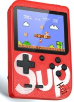 Dilurban High quality New Arrival SUP Game Box Game Console 3 INCH Retro FC Game Player Classic Game 400 in 1 Sup Game Box USB Rechargeable Portable Handheld Game Pad with TV Output Cable,Charging USB Cable Portable Video Game Birthday Presents for Children & Inbuilt With 400 Games 8 GB with Mario/S