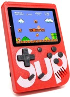 DILURBAN SUP Game Box Game Console 3 INCH Retro FC Game Player Classic Game 400 in 1 Sup Game Box USB Rechargeable Portable Handheld Game Pad with TV Output Cable,Charging USB Cable Portable Video Game Birthday Presents for Children & Inbuilt With 400 Games 8 GB with Mario/Super Mario/DR Mario/Contr
