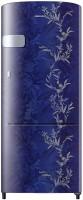 SAMSUNG 192 L Direct Cool Single Door 2 Star Refrigerator(Mystic Overlay Blue, RR20A1Y1B6U/HL)