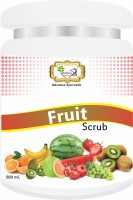 Sibley Beauty Mix-Fruit Face Scrub (1 x 500 gm.) - for brightening, smoothening, facial glow, oily dry normal combination skin, men women girls boys - Salon Pack Products Scrub(500 g)