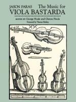 Music for Viola Bastarda(English, Paperback, Paras Jason)