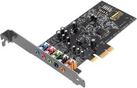 CREATIVE Sound blaster Audigy FX PCIe Internal Sound Card(5.1 Audio Channel)
