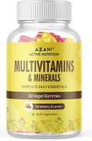 Azani Active Nutrition Multivitamins & Minerals Gummies, Healthy diet supplement that improves metabolism(30 No)