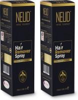 NEUD Hair Remover Spray for Men and Women – 2 Packs (100ml Each) Spray(200 ml, Set of 2)