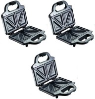 Tefal Ultra Compact pack of 3 750 W Pop Up Toaster(Silver)