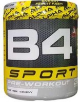 ALPHA B4 Sport Pre Workout EAA (Essential Amino Acids)(270 g, Cotton Candy)