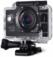 Robiless Full HD 1080p 12MP Sports Action Camera Best Quality Waterproof Camera Multiple Photo Shooting Mounted Suitable Sports and Action Camera(Black, 12 MP)