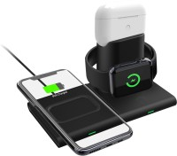 UNIGENAUDIO 150   3 in 1 Type-C PD Wireless Charging Dock For iWatch AirPods 1/2/Pro iPhone/Samsung Charging Pad
