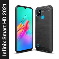 Flipkart SmartBuy Back Cover for Infinix Smart HD 2021(Black)
