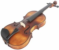 The Violin Store Solid Wood Matt Finish Good Quality Viola (15.5 Inch) 1/10 Classical (Modern) Violin(Brown Yes)