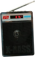 CRETO SL-413 Audio Player Fm Radio Supports USB pen-drive, aux memory card FM Radio(Black)
