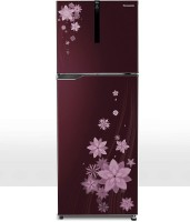 Panasonic 270 L Frost Free Double Door 5 Star Refrigerator(Pointed Floral Wine, NR-BG271VPW3)