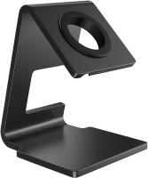 ELV DIRECT Aluminum Stand Holder Charging Station Dock Mount Cradle for iWatch Series SE/ 6/5 / 4/3 / 2/1 / 44mm 42mm 40mm 38mm Mobile Holder